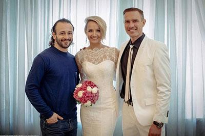 Оксана Домнина вышла замуж