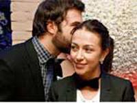 Ургант с женой
