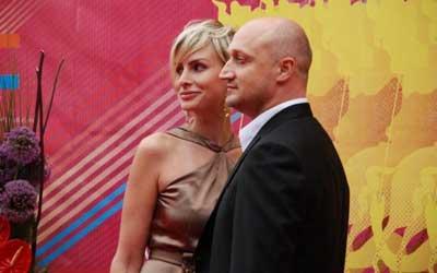 Куценко с женой