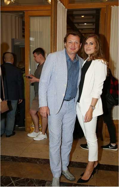 Башаров с третьей женой