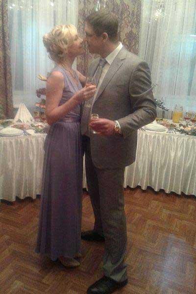 Орлов с новой женой