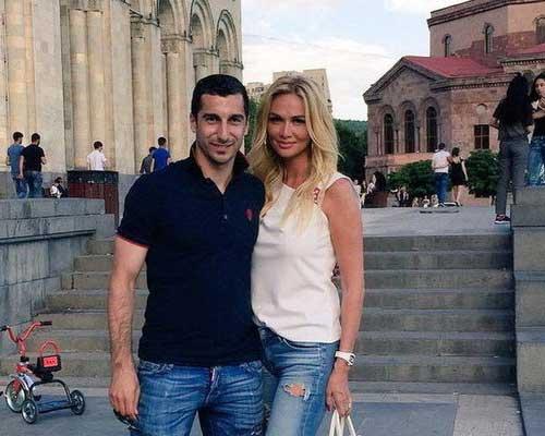Невеста Николая Баскова была на свидании с Генрихом Мхитаряном
