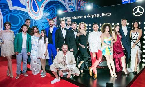 Наряды звезд на Новой волне в Сочи 2017