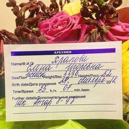 Глеб Матвейчук и Елена Глазкова стали родителями