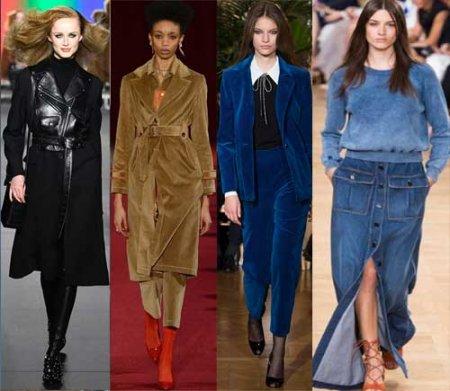 Что модно носить женщинам осенью и зимой 2018 и 2019 года