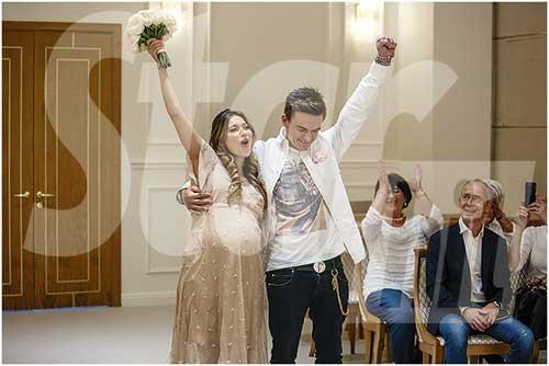 Регина и Влад поженились