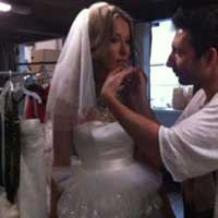 Собчак в свадебном платье